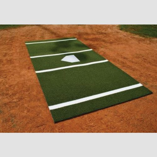 12 X 6 Baseball Batting Mat Green Sports Facility